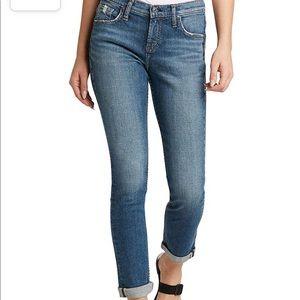 Women's New Silver Beau Girlfriends Jeans